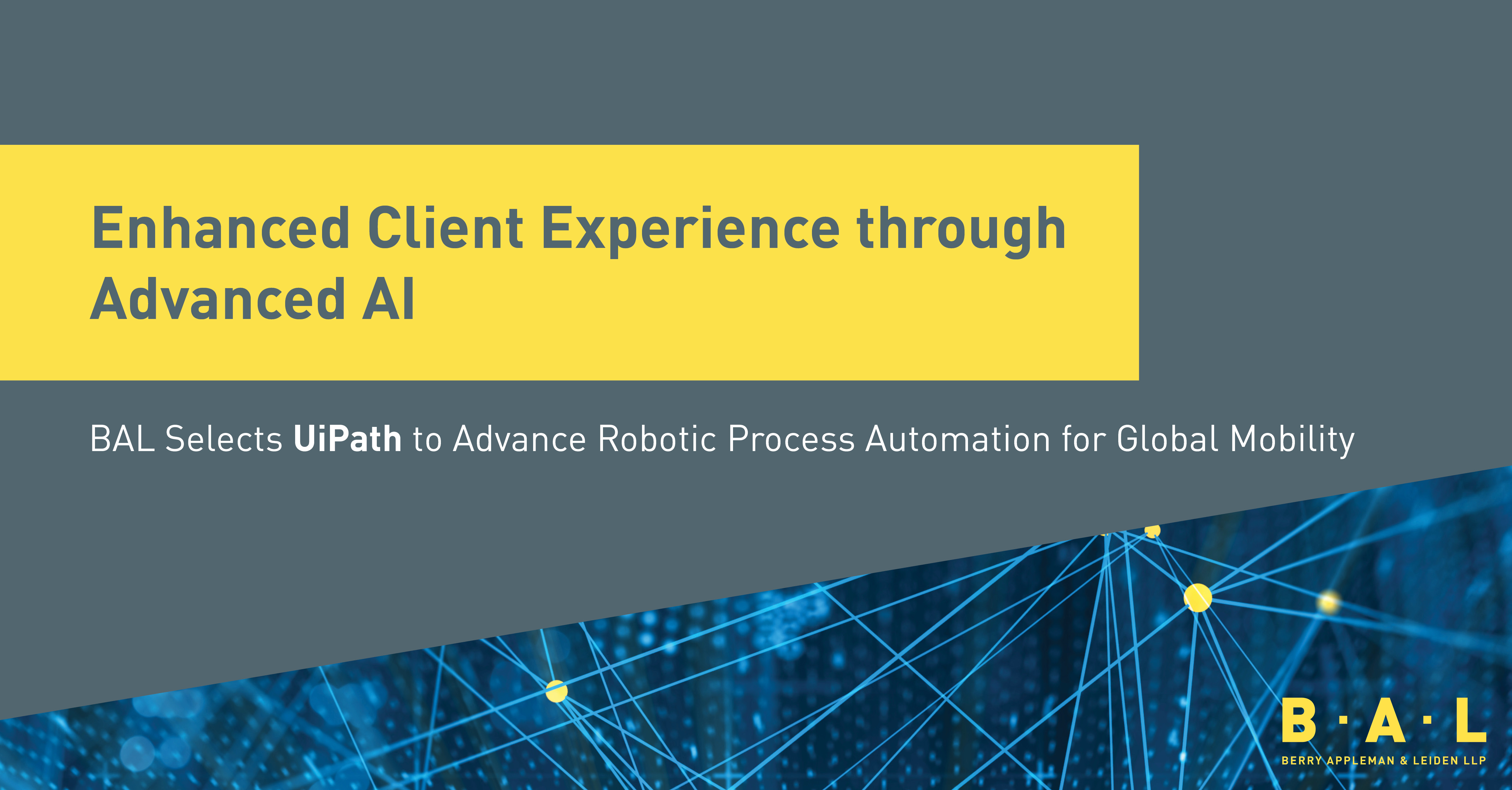 BAL Selects UiPath to Advance Robotic Process Automation for
